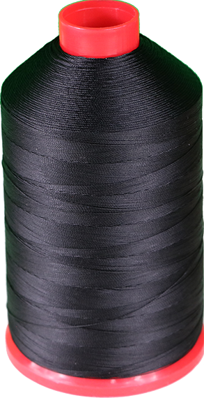 Tex 30, Color 4201 (black) nylon thread 1Lb Spool