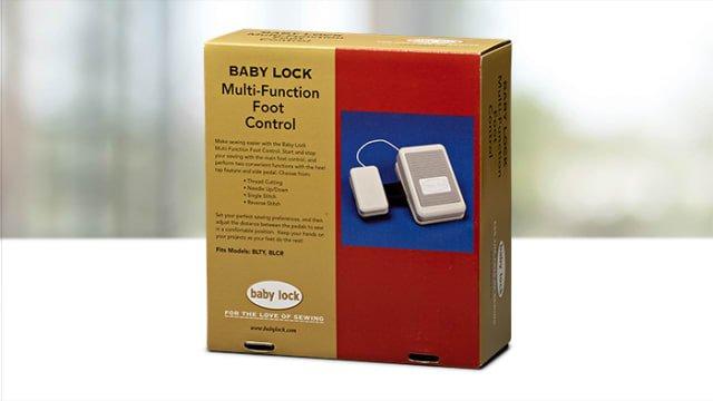 Multi Function Foot Control Babylock