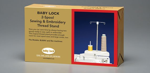 2 Spool Thread Stand Babylock BLTY BLCR BLPY