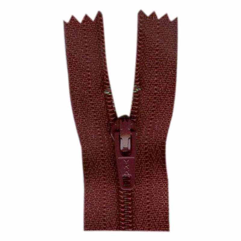 General Purpose Closed End Zipper 55cm (22) - Bordeaux