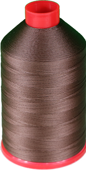 Tex 30, Color 4084 (brown) nylon thread 250G Spool