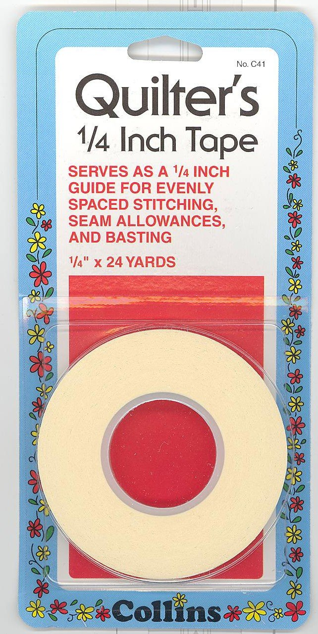 1/4in  Quilters Tape 24yd