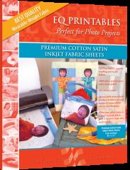 EQ Premium Cotton Satin Inkjet Fabric Sheets (6)