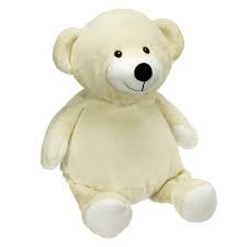 Embroider Buddy 16 in Mister Buddy Bear French Vanilla