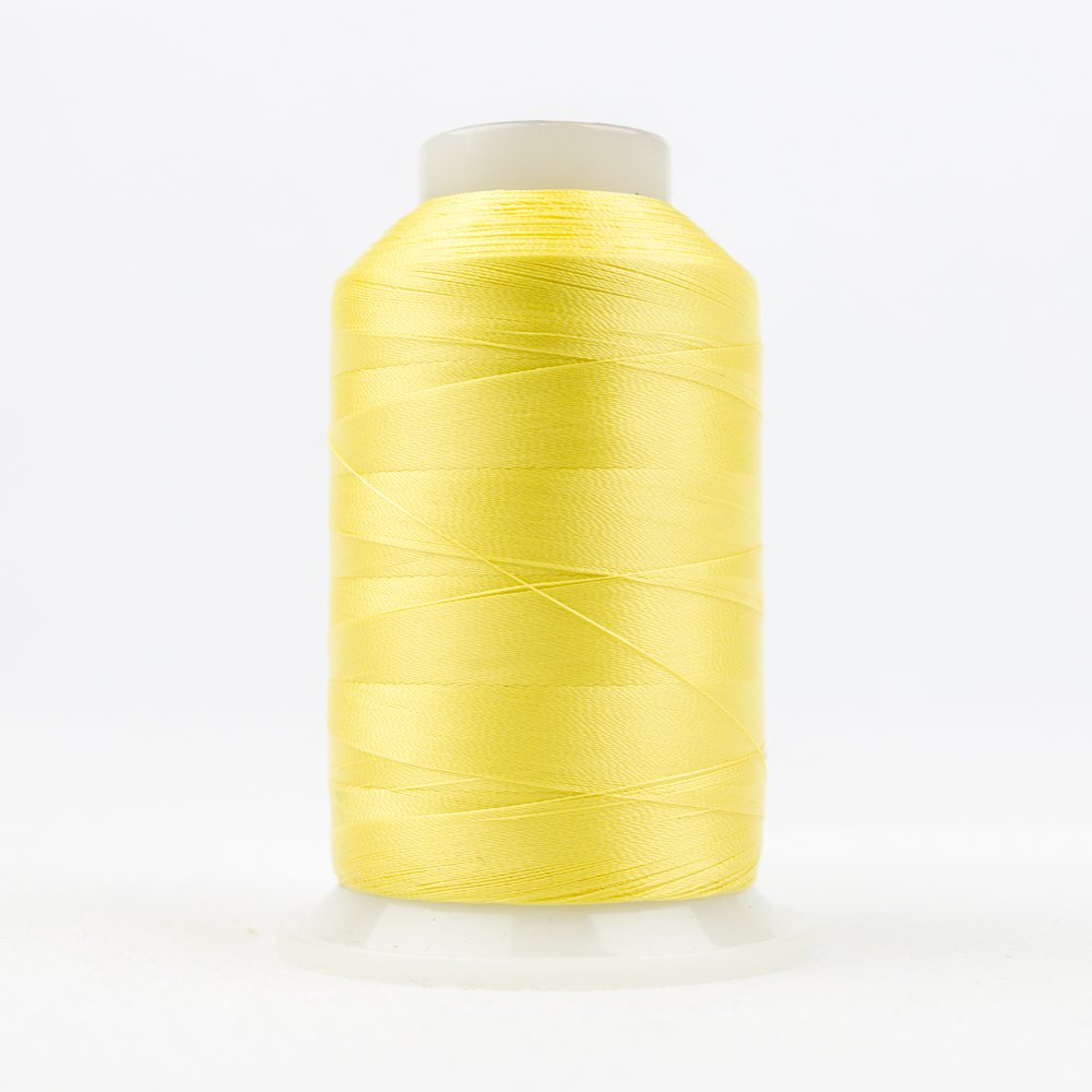 DecoBob Cottonized Polyester 80 wt 2000m 118 Soft Yellow