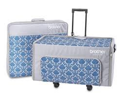 Brother Luminaire Trolley Rolling Bag Set