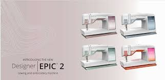 Husqvarna Epic 2 Sewing & Embroidery Machine