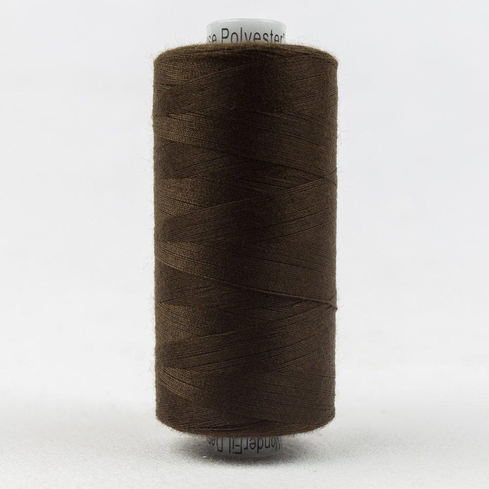 Designer Polyester 40 wt 1000 m 106 Baker's Chocolate