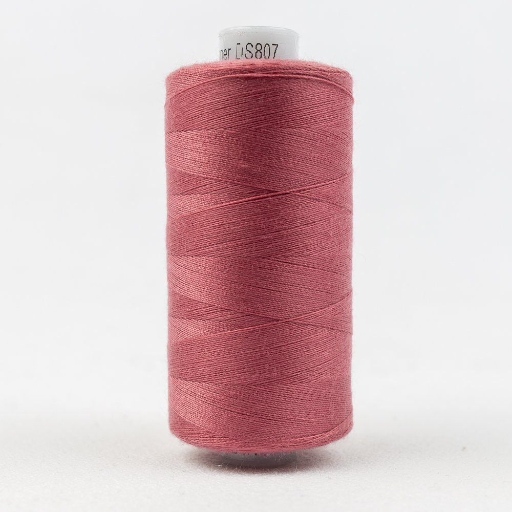 Designer Polyester 40 wt 1000 m 807 Intense Pink