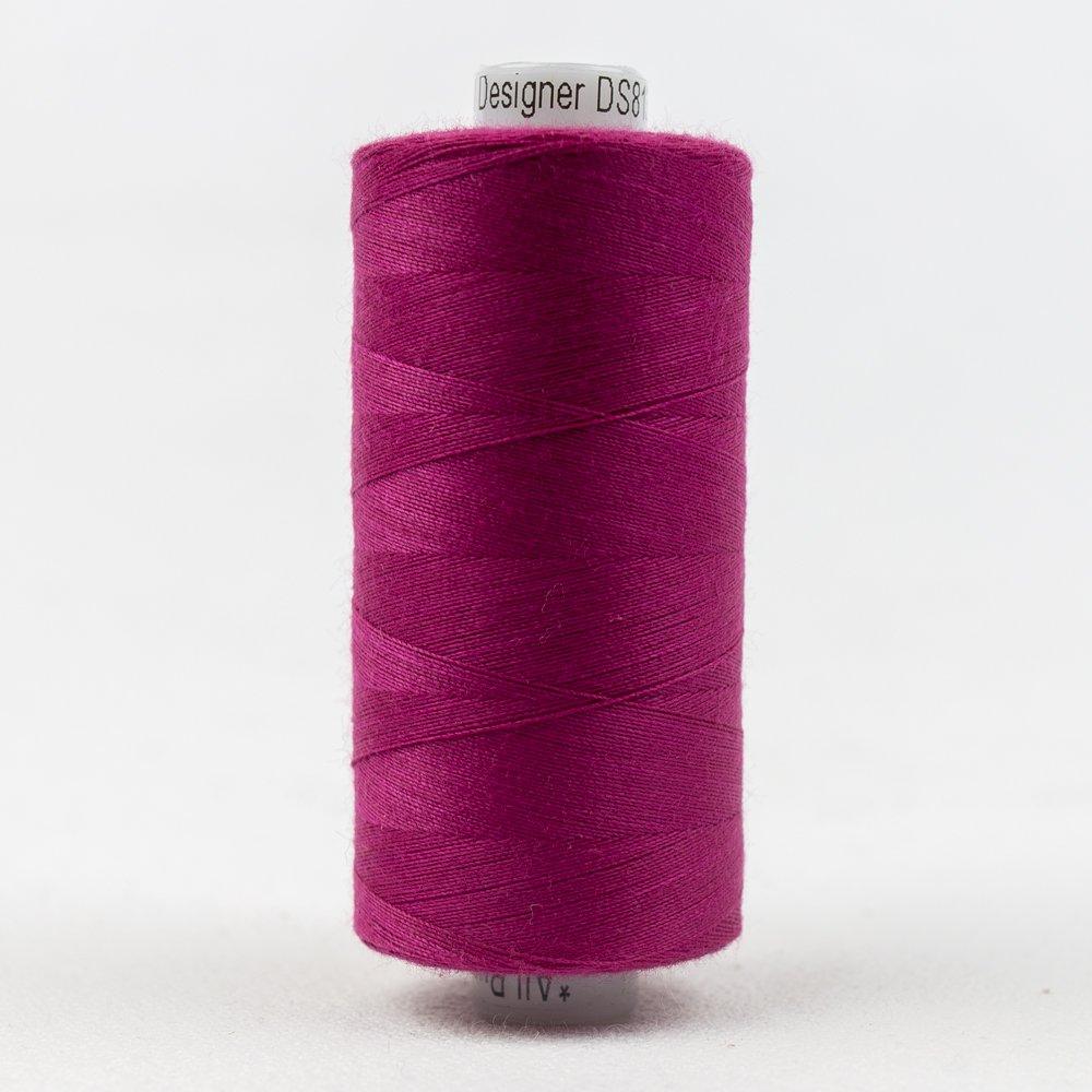 Designer Polyester 40 wt 1000 m 813 Violet Red