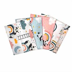 Panda Series Fat Quarter Pack 5 pc