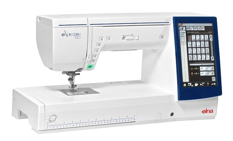 Elna 920 Sewing & Embroidery Machine