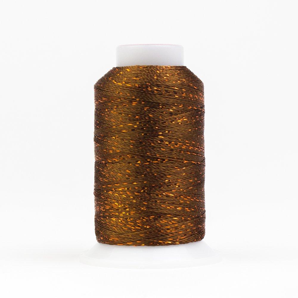GlaMore 12 Wt Rayon Metallic 274m 330 Acorn Brown