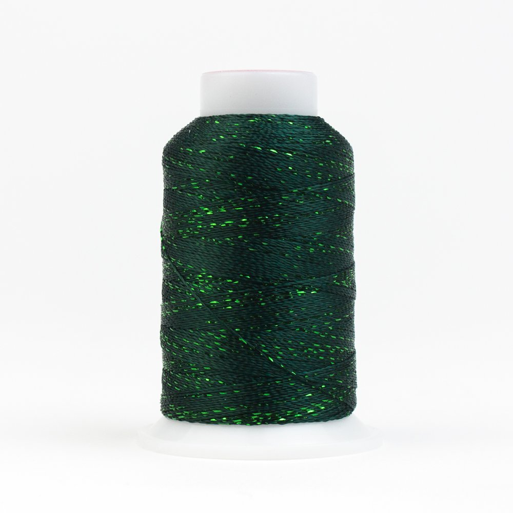 GlaMore 12 Wt Rayon Metallic 274m 566 Forest Green