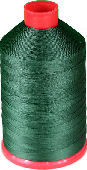Tex 135, Color 4158 (green) nylon thread 250G Spool