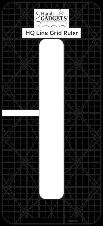 ROM 3 HQ Line Grid Ruler 6 in x 1/4 in