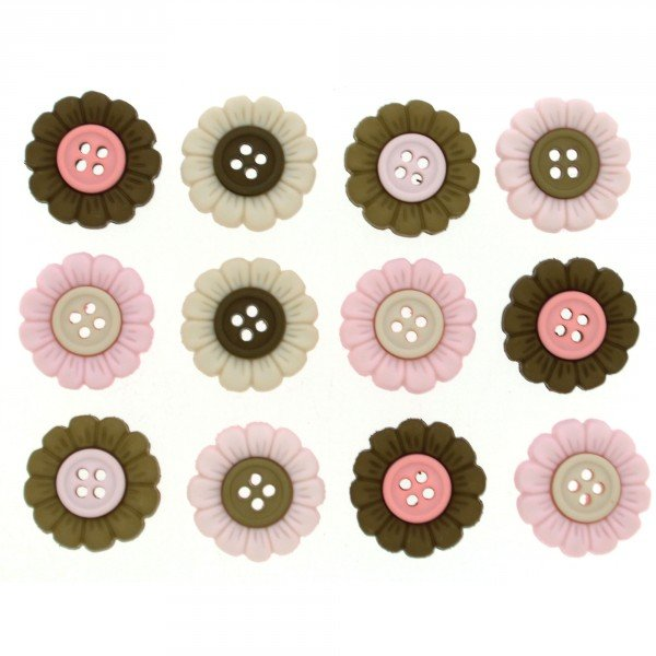 Sew Cute Harmony 12ct Button Pack