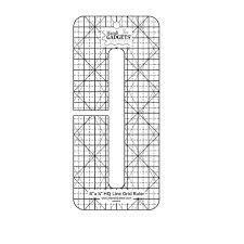 ROM Line Grid Ruler 6 x 1/2