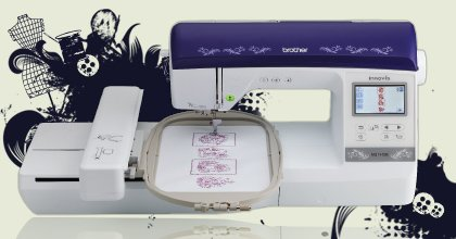 Brother Fashion Creator NQ1400E Embroidery Machine