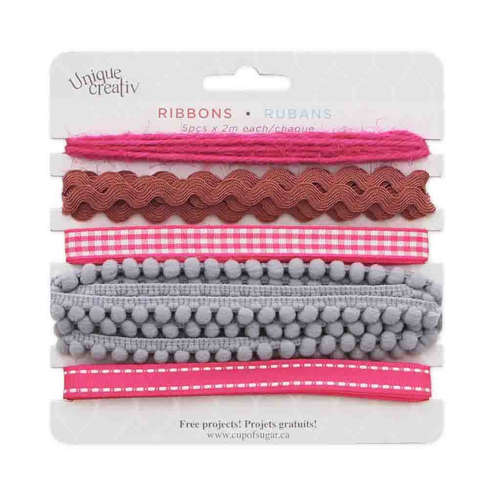 Assorted Trim Pack Pink