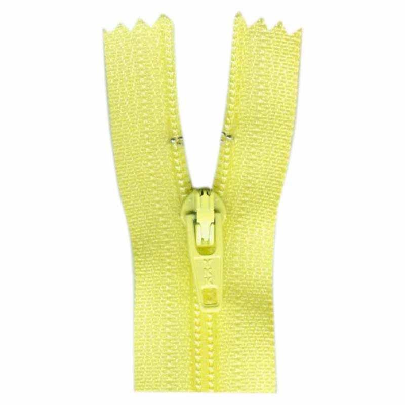 General Purpose Closed End Zipper 35cm (14) - Primrose