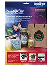 ScanNCut Printable Sticker Starter Kit