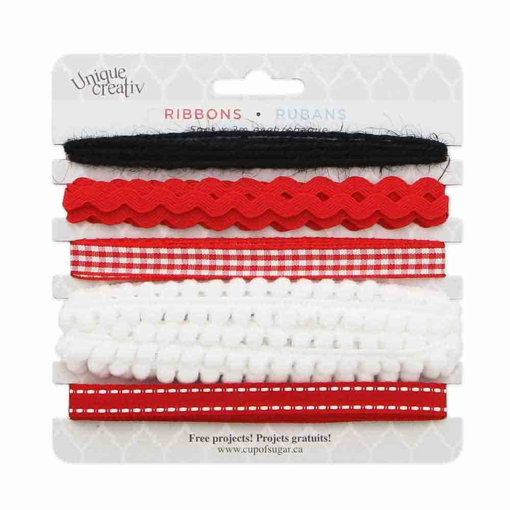 Assorted Trim Pack Red