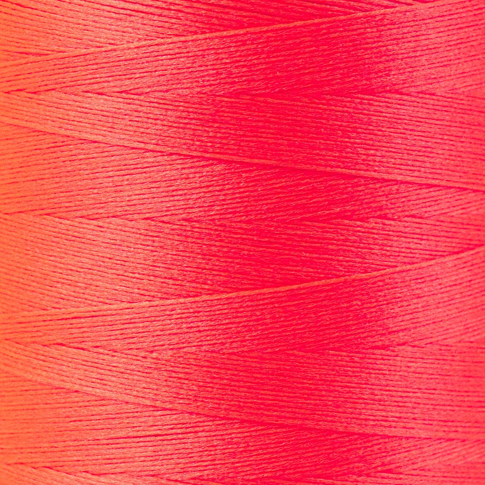 SoftLoc Wooly Poly thread 1005m 12 Neon Red
