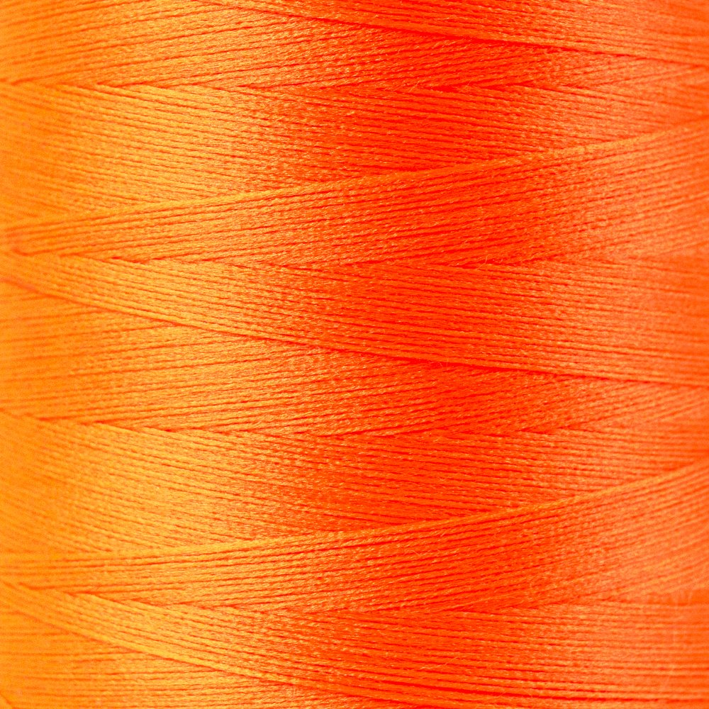SoftLoc Wooly Poly thread 1005m 34 Neon Orange