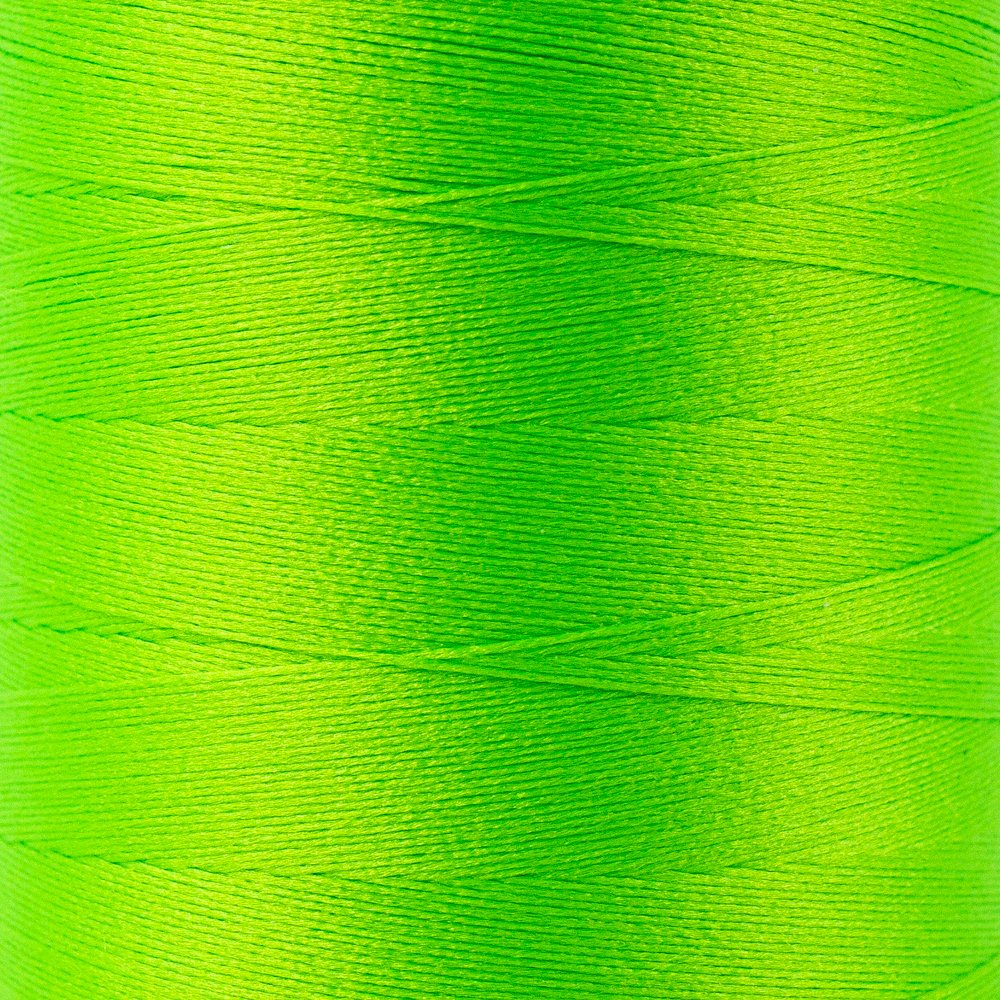 SoftLoc Wooly Poly thread 1005m 51 Neon Green