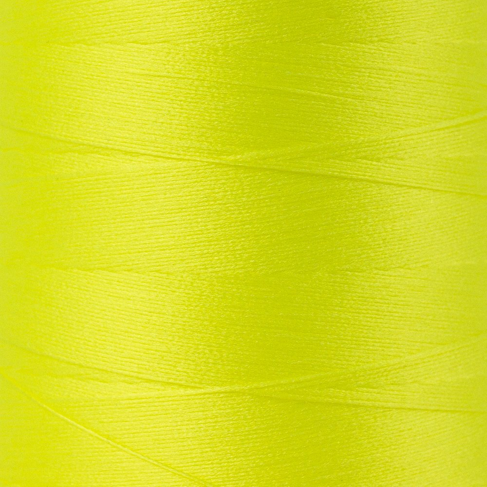 SoftLoc Wooly Poly thread 1005m 52 Neon Yellow