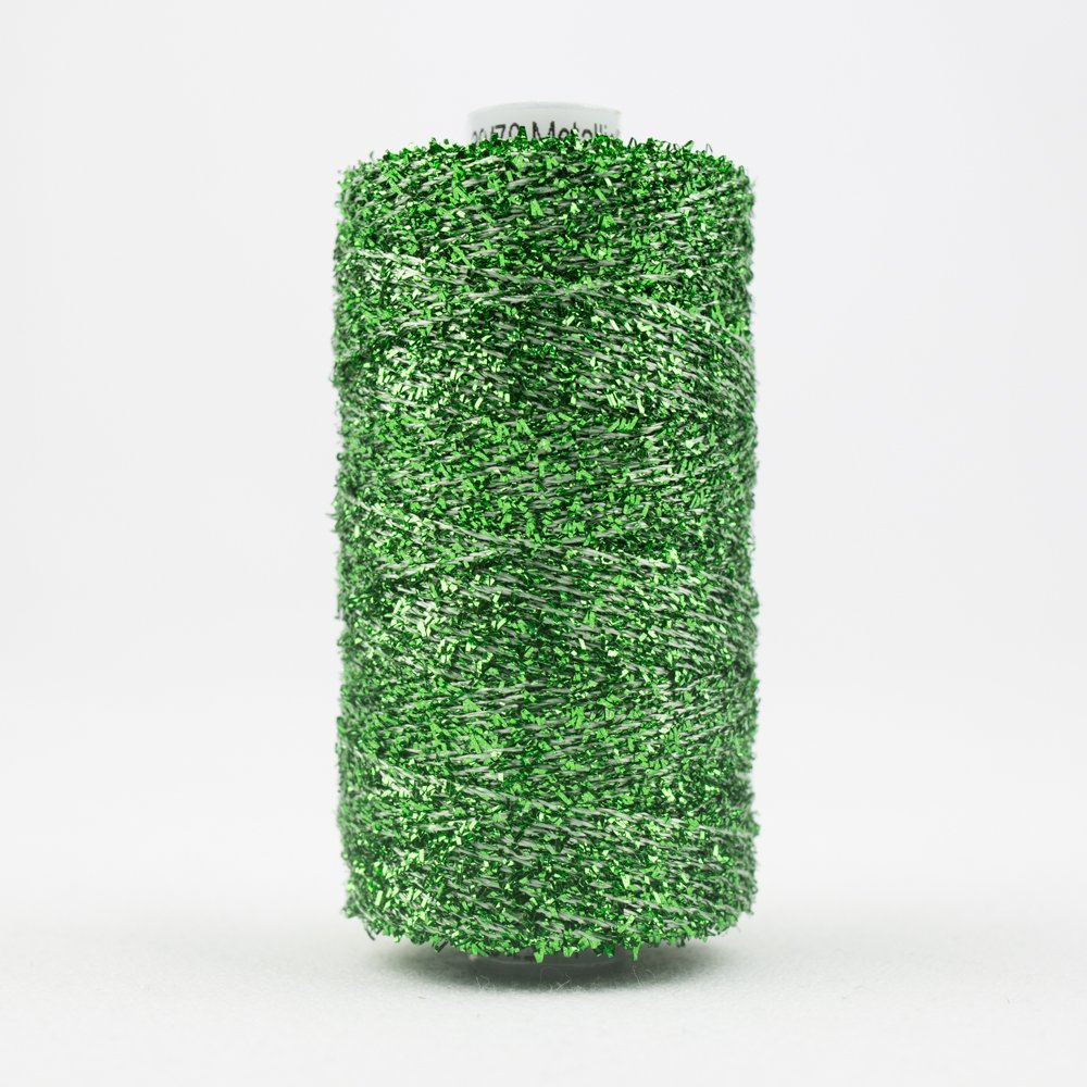 Sizzle 8 wt Rayon Metallic 165m 4 Sea Foam Green