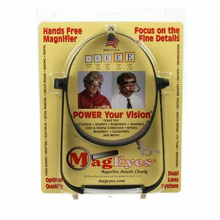 Mageye's Visor Magnifier w/2 Lenses