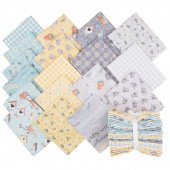 Smitten with Spring Raindrops Fat Quarters 18 pc