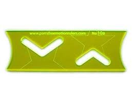 Parrs 3mm Quilting Ruler Star