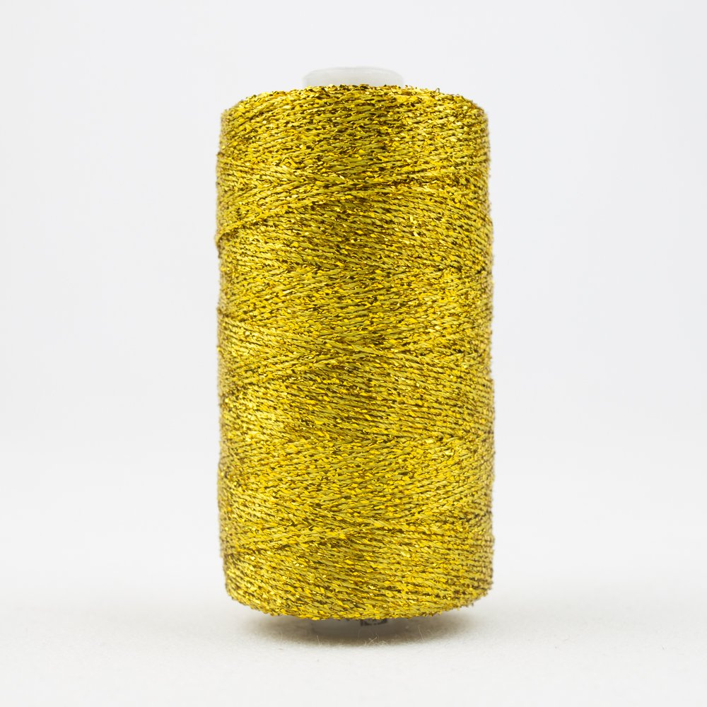 Sizzle 8 wt Rayon Metallic 165m 11 Gold