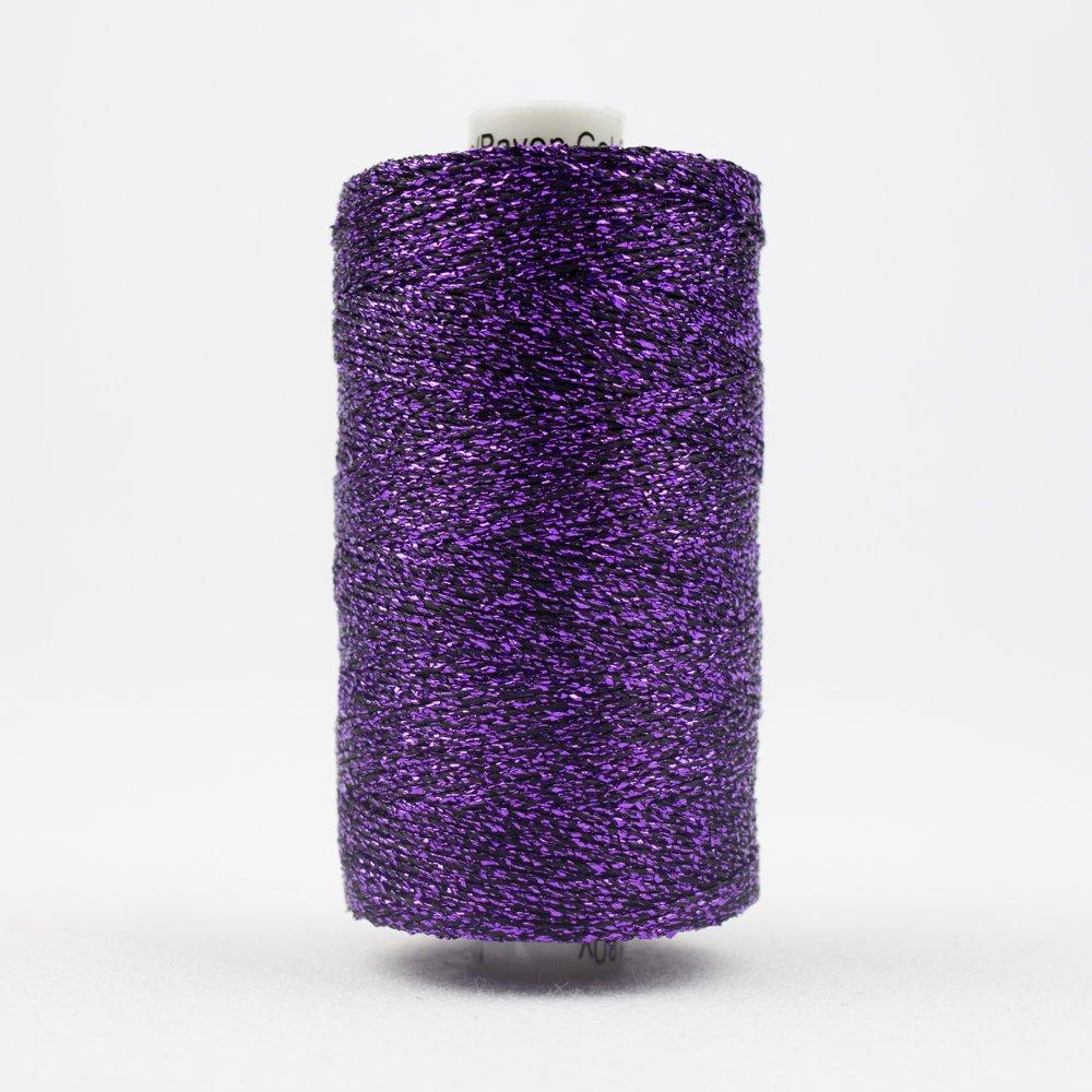 Sizzle 8 wt Rayon Metallic 165m 35 Purple