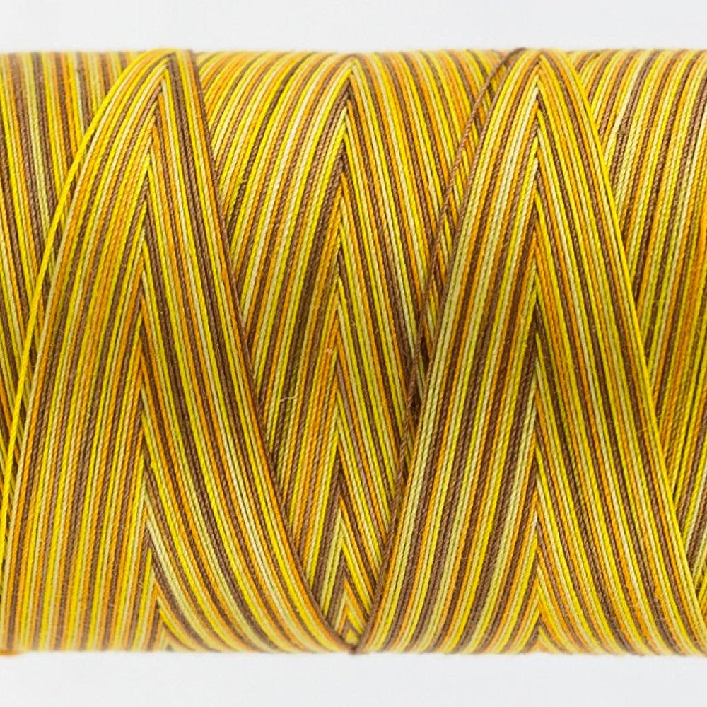 Tutti Varigated Thread  50 Wt 06 Sunflower