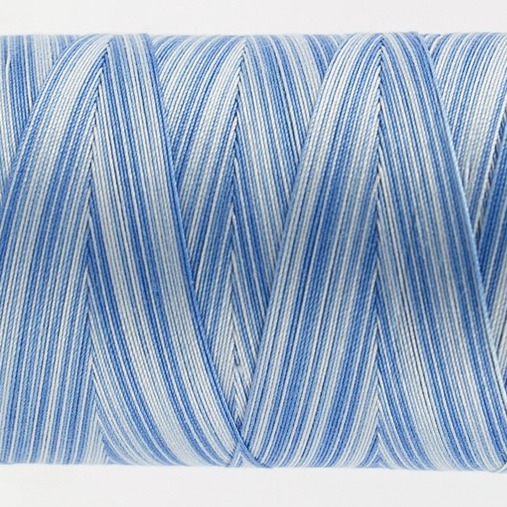 Tutti Varigated Thread  50 Wt 21 Sky Blue