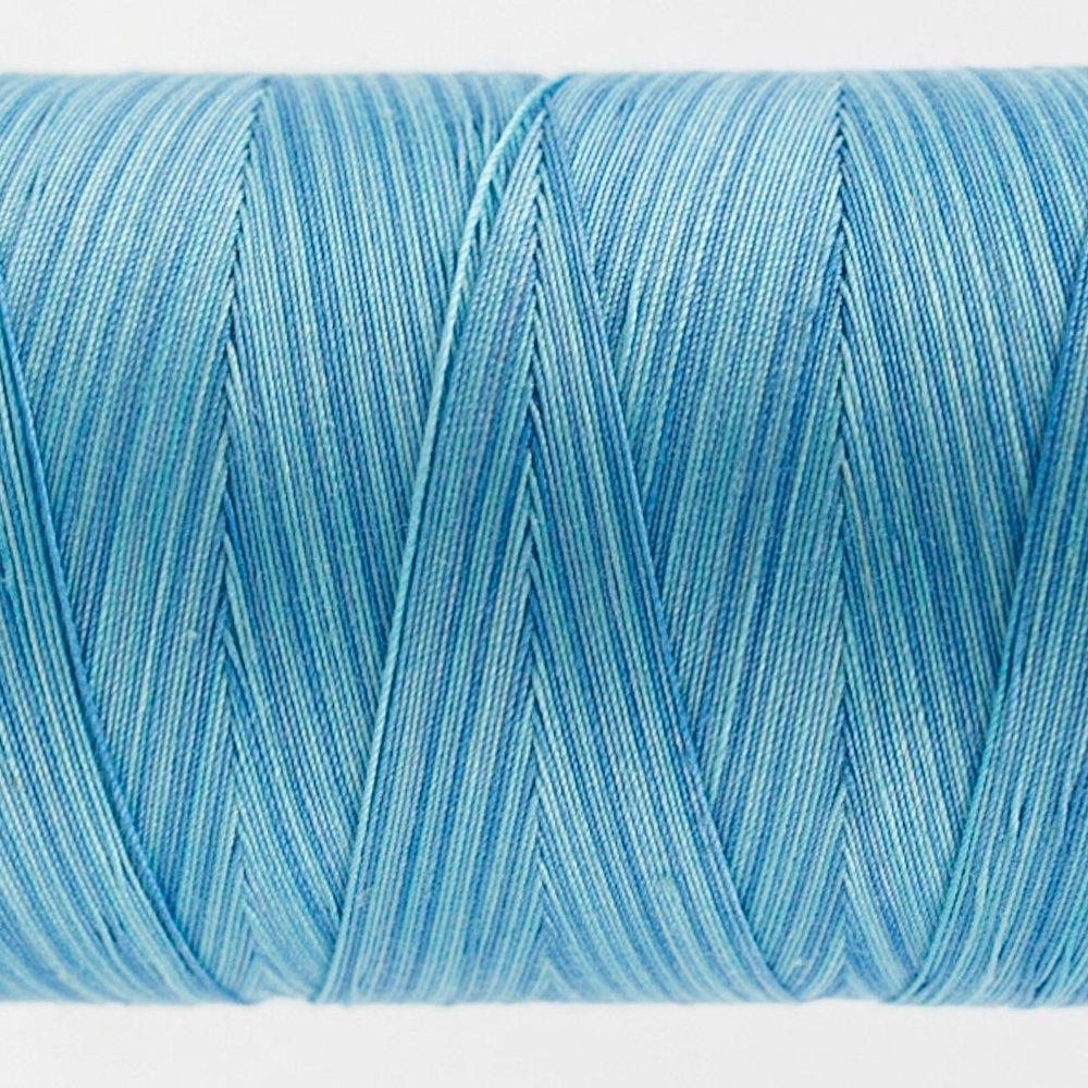 Tutti Varigated Thread  50 Wt 23 Sea Blue