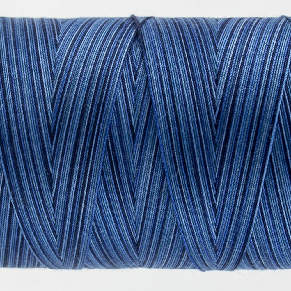 Tutti Varigated Thread  50 Wt 24 Blue Night