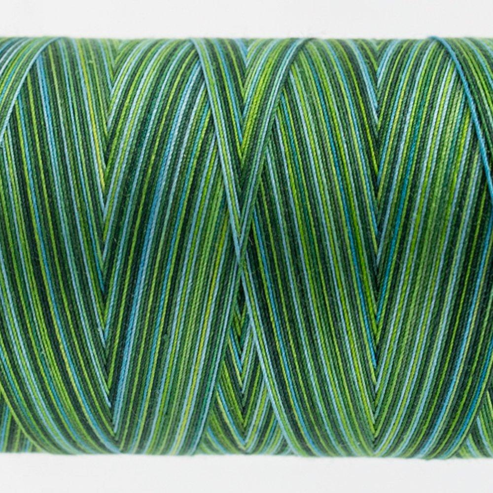 Tutti Varigated Thread  50 Wt 31 Evergreen