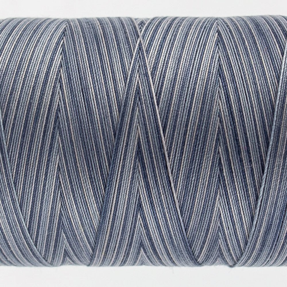 Tutti Varigated Thread  50 Wt 40 Slate