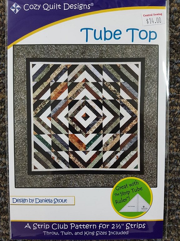 Tube Top Quilt Pattern by Daniela Stout