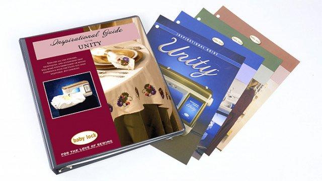 Inspiration Guide Workbook Babylock Unity