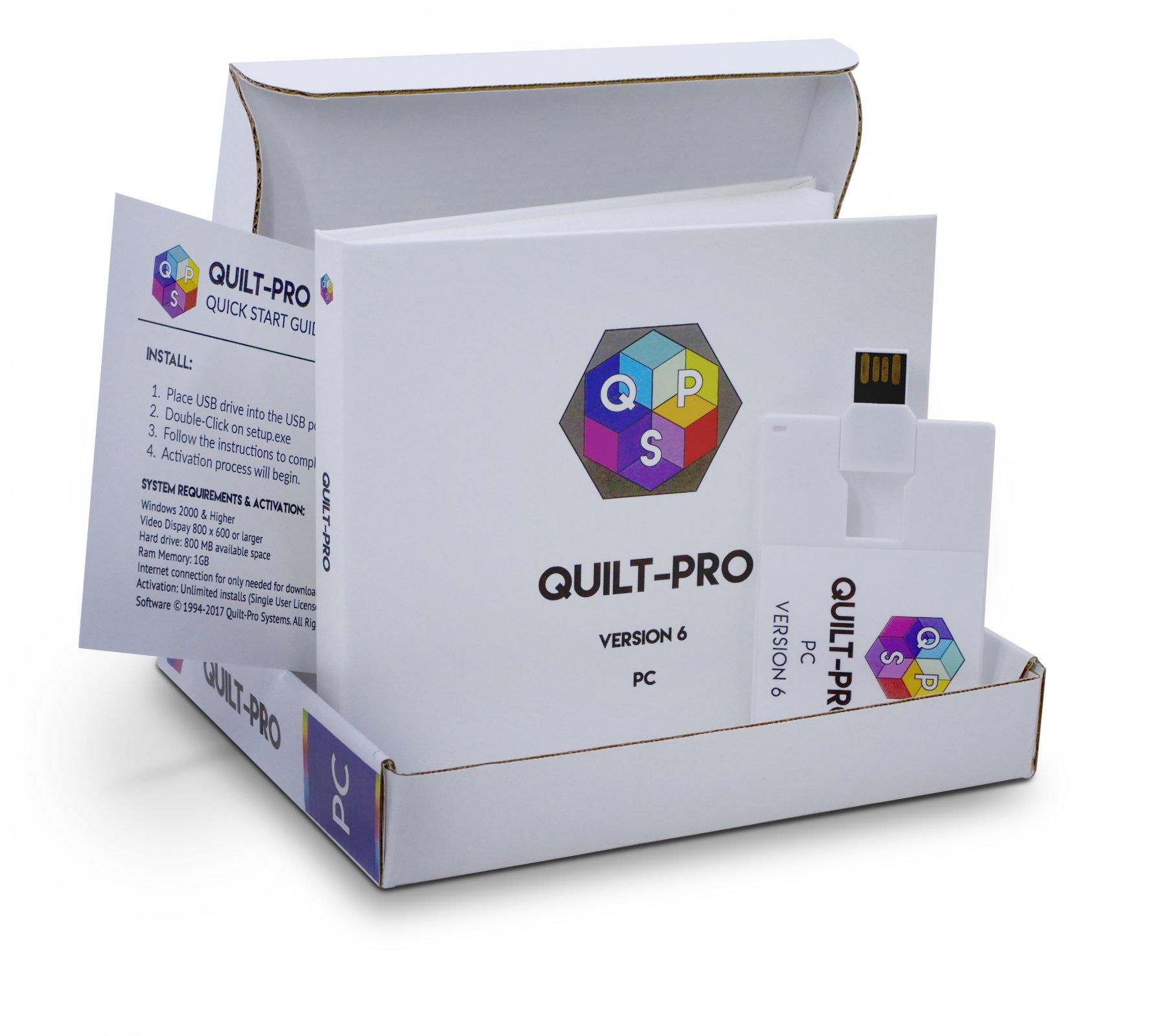 Quilt Pro Version 6  for Windows