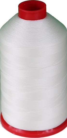 Tex 210, Color 4200 (white) nylon thread 1LB Spool