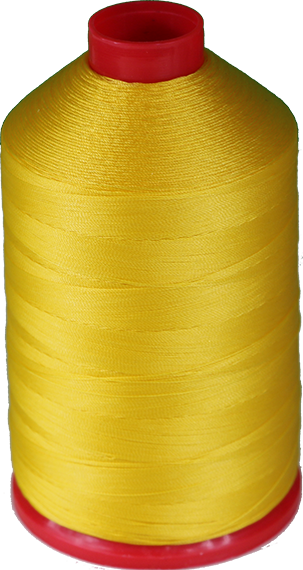 Tex 30, Color 4008 (yellow) nylon thread 250G Spool