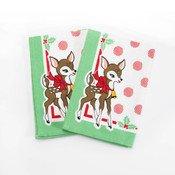 Deer Christmas Napkin