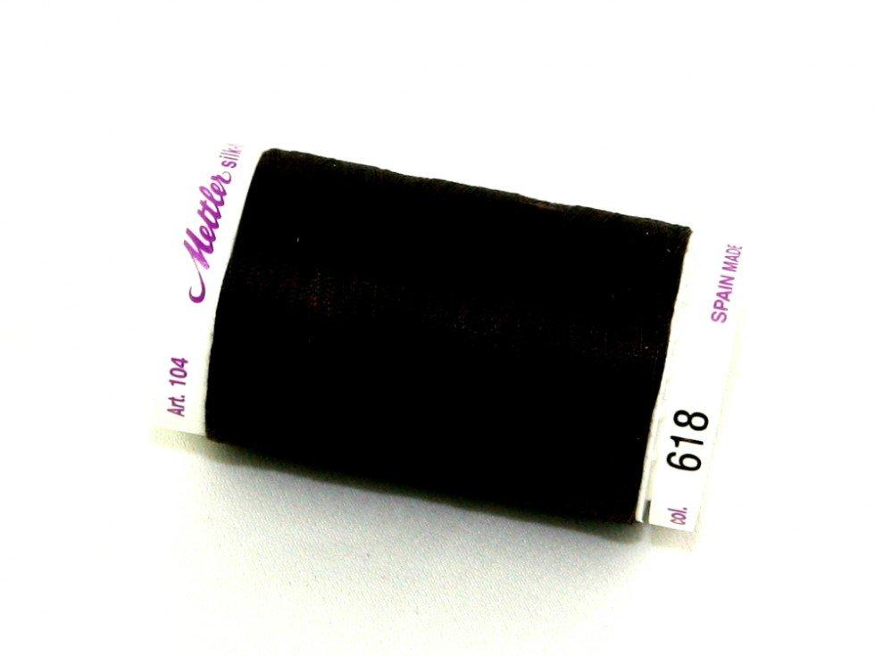 Mettler Silk-Finish 50wt Cotton Thread #618 Chocolate